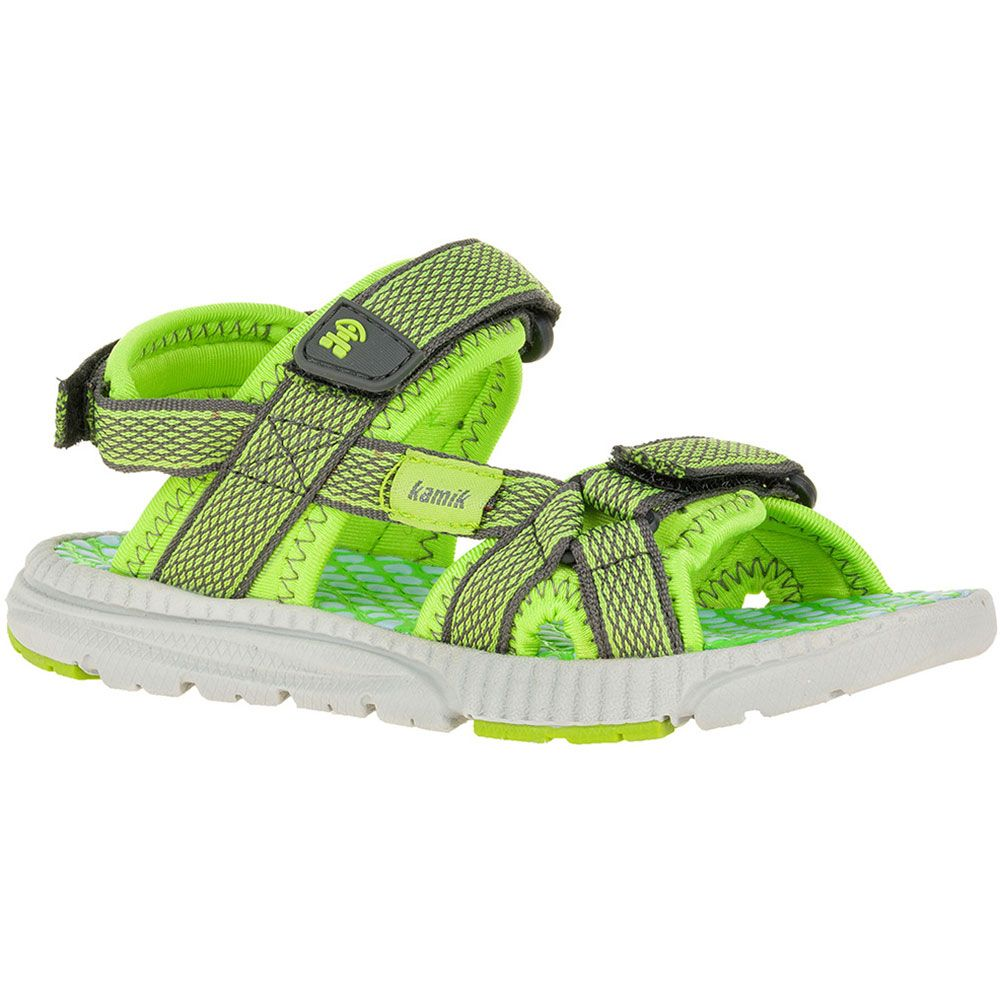 kamik match sandalen kinder lime kaufen im sport bittl shop. Black Bedroom Furniture Sets. Home Design Ideas