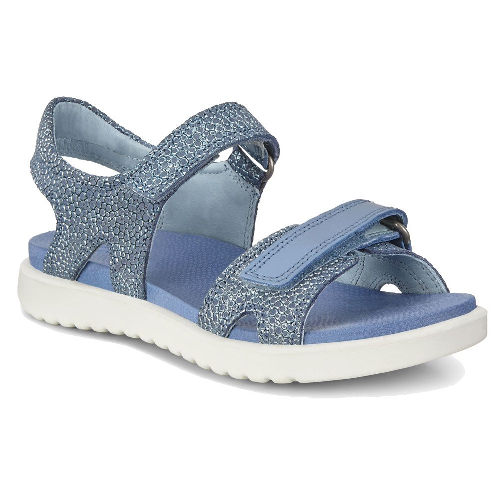 Ecco Flora Sandal Girls retro blue