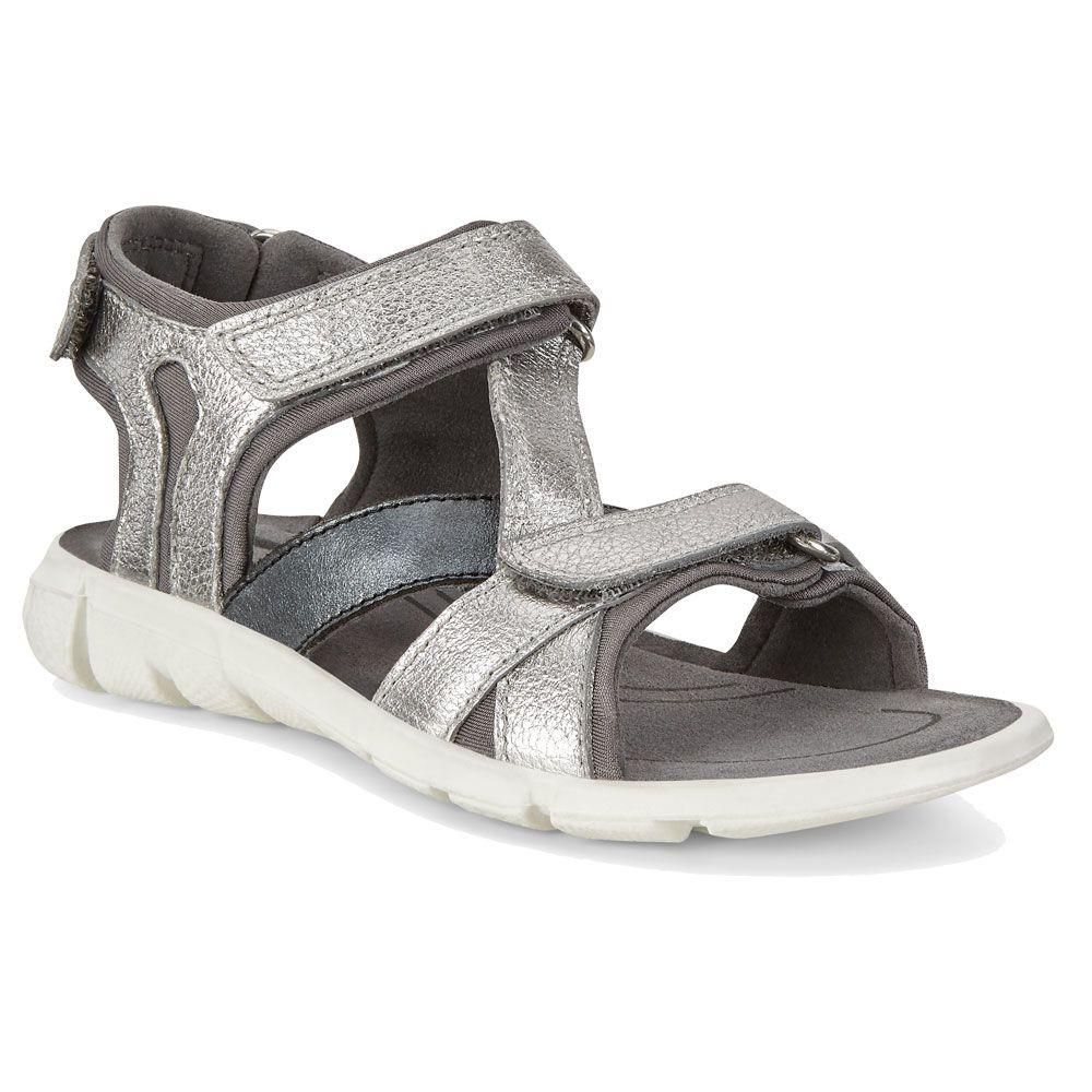 Ecco Intrinsic Sandal Girls alusilber