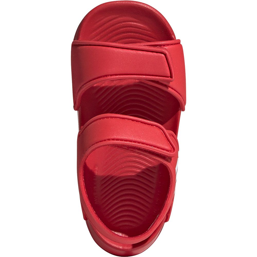 adidas AltaSwim Baby Sandals scarlet footwear white