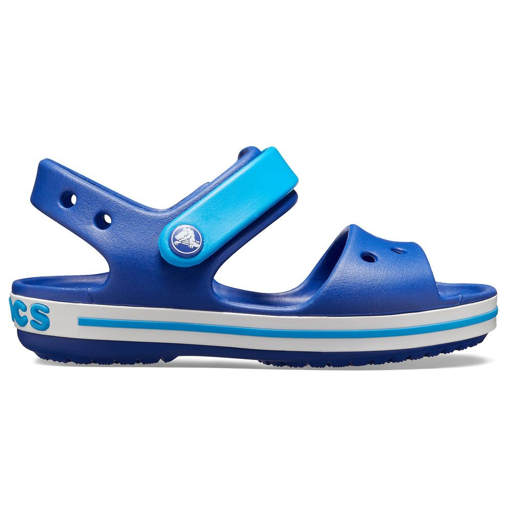 f6da3da3913f6 Crocs - Crocband Sandal Kids blue ocean at Sport Bittl Shop