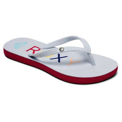 bdaf57646af4 Roxy - Sandy II Flip Flops Girls white at Sport Bittl Shop