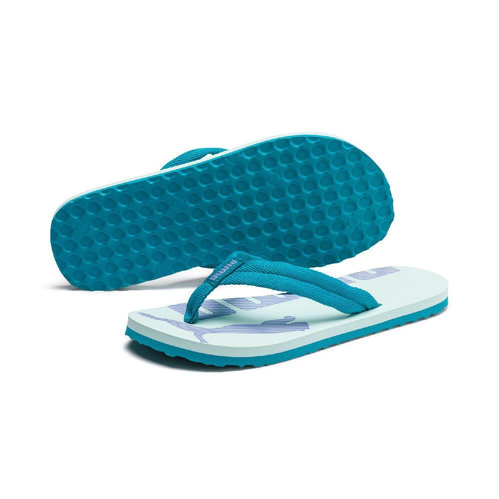 pas mal 1f10a 9b0d0 Puma - Epic Flip v2 Jr. Flip Flops Kids fair aqua caribbean sea