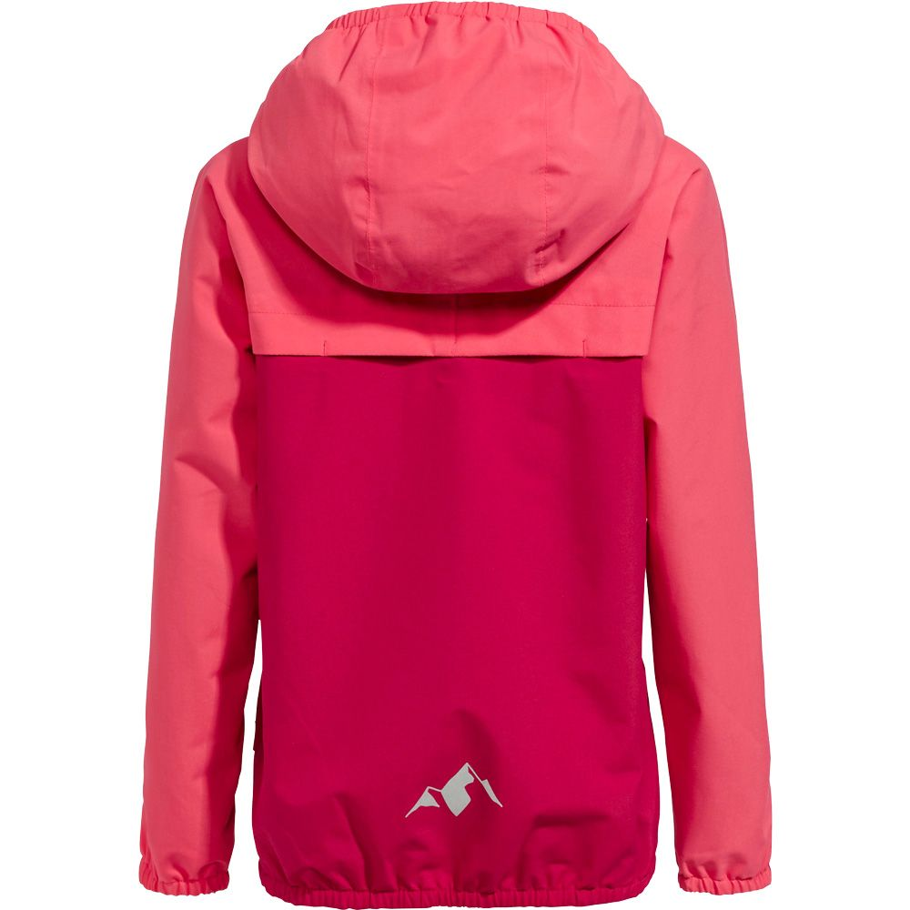 Turaco II Regenjacke Kinder crimson red