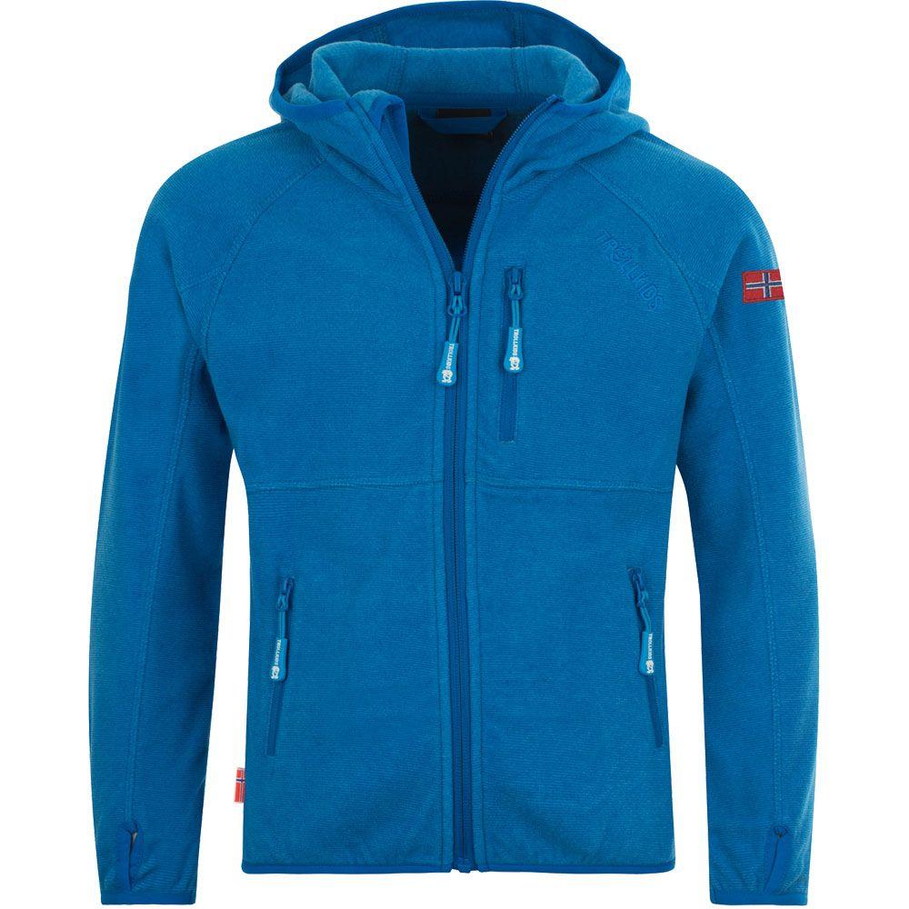 Sandefjord Fleece Jacket Kids med blue