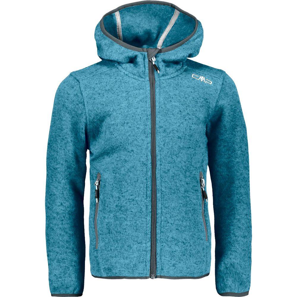 CMP Boys Knitted Fleece Jacket Jacket