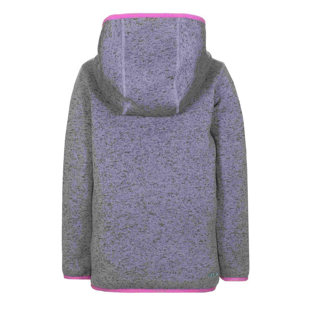 Oceania Knitted Fleece Jacket Kids sharkskin