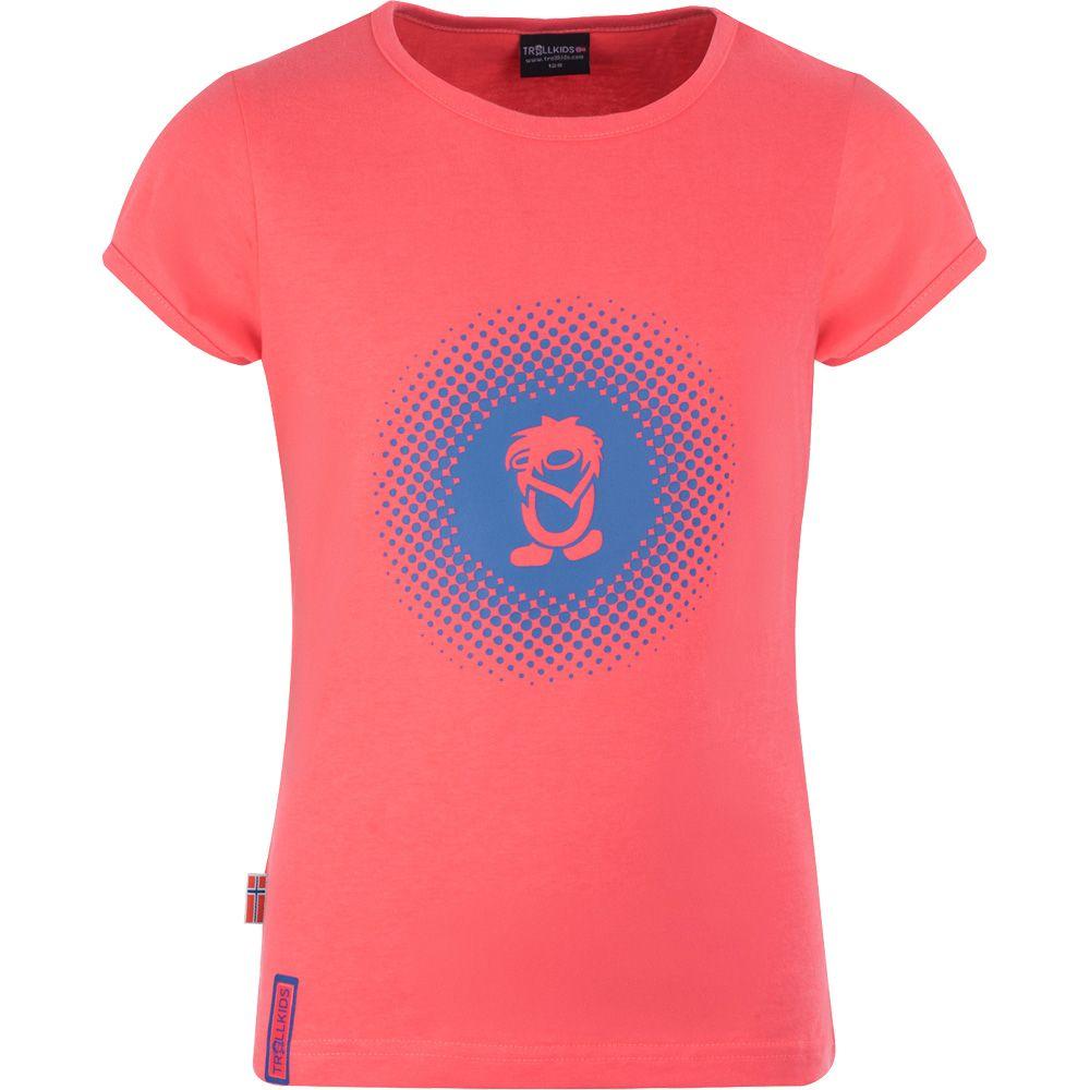 Logo T-Shirt Girls coral blue