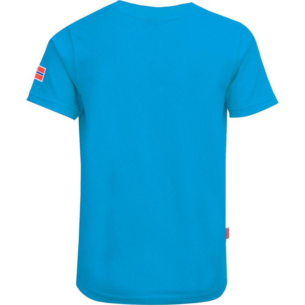 Windrose T-Shirt Kinder medium blue