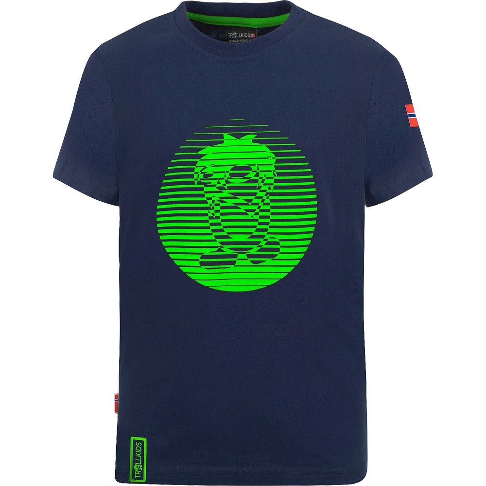 Troll T XT T-Shirt Kinder navy
