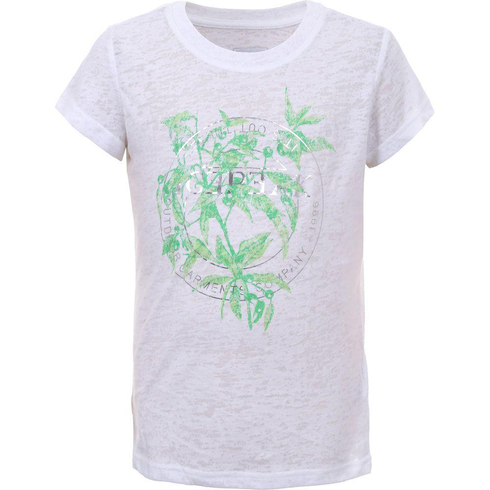Leuna T-Shirt Mädchen optic white