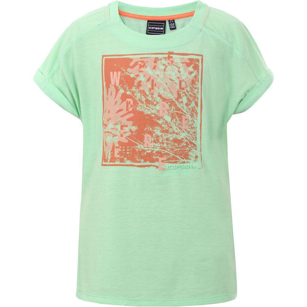 Lavina T-Shirt Mädchen aloe