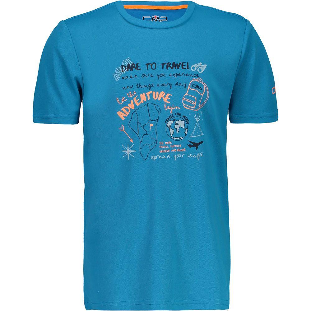 Function Tshirt Boys blue