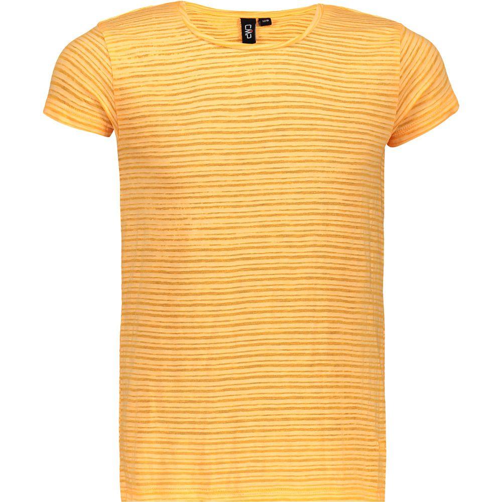 T-Shirt Mädchen gelb gestreift