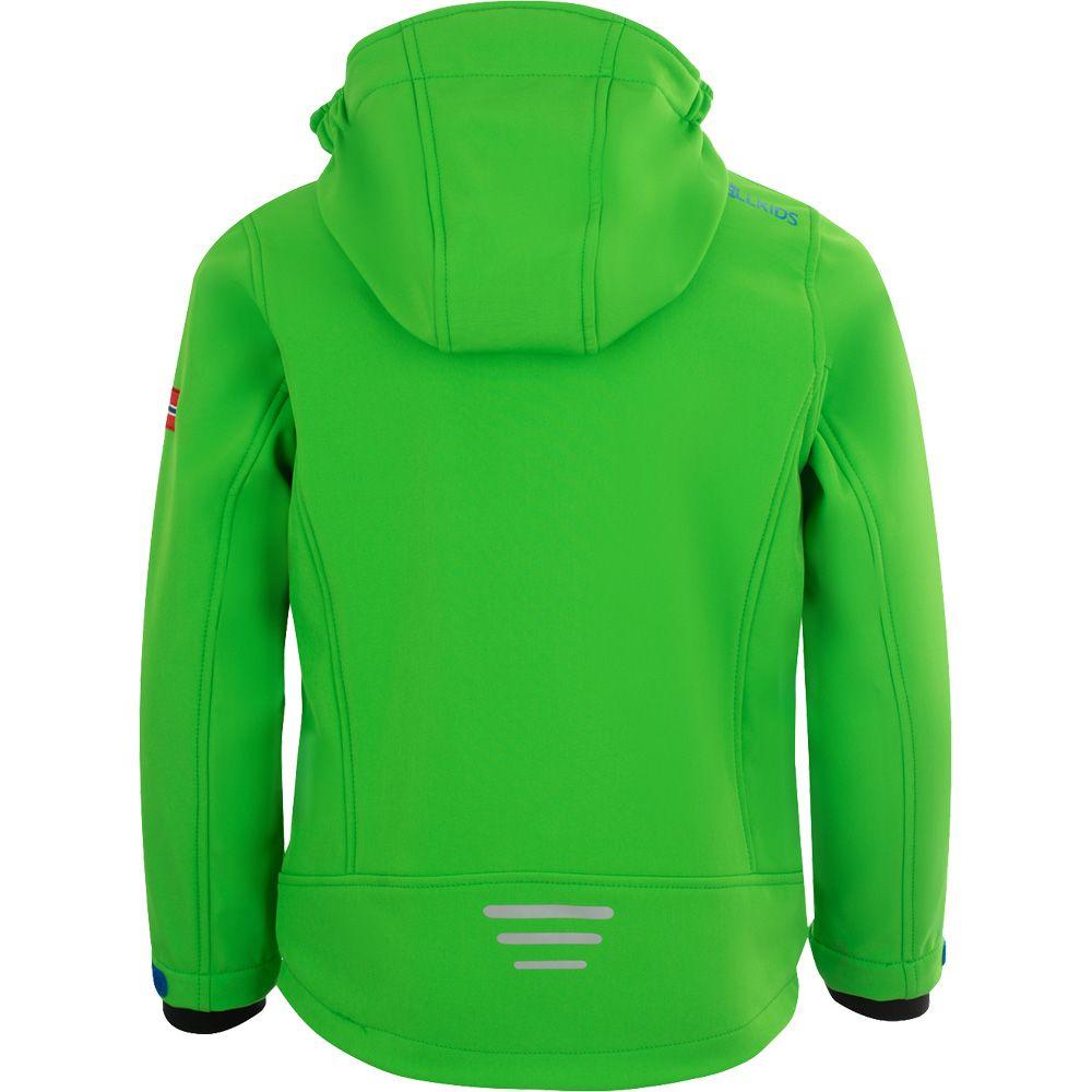 Trollfjord Softshell Jacket Kids dark green
