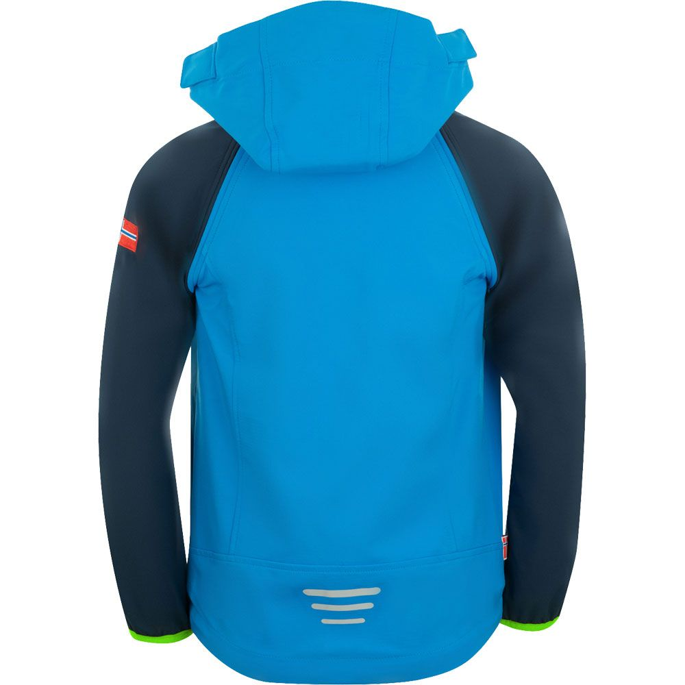Rondane XT Zip Off Softshelljacke Kids navy med blue green