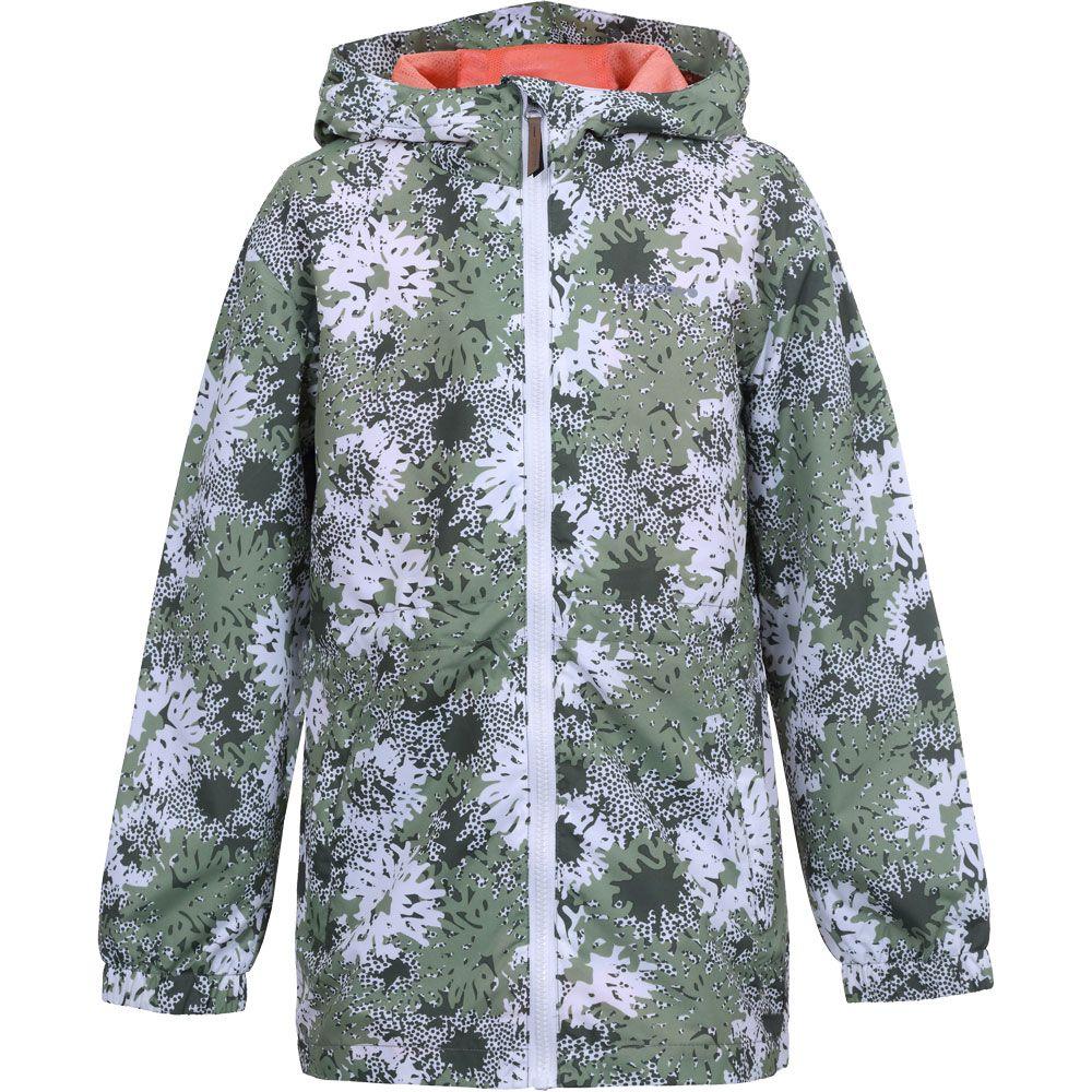 Lorain Windbreaker Coat Girls antique green