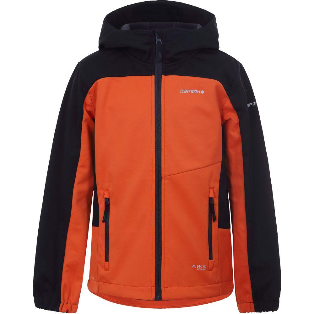 Laurens Softshell Jacket Boys orange
