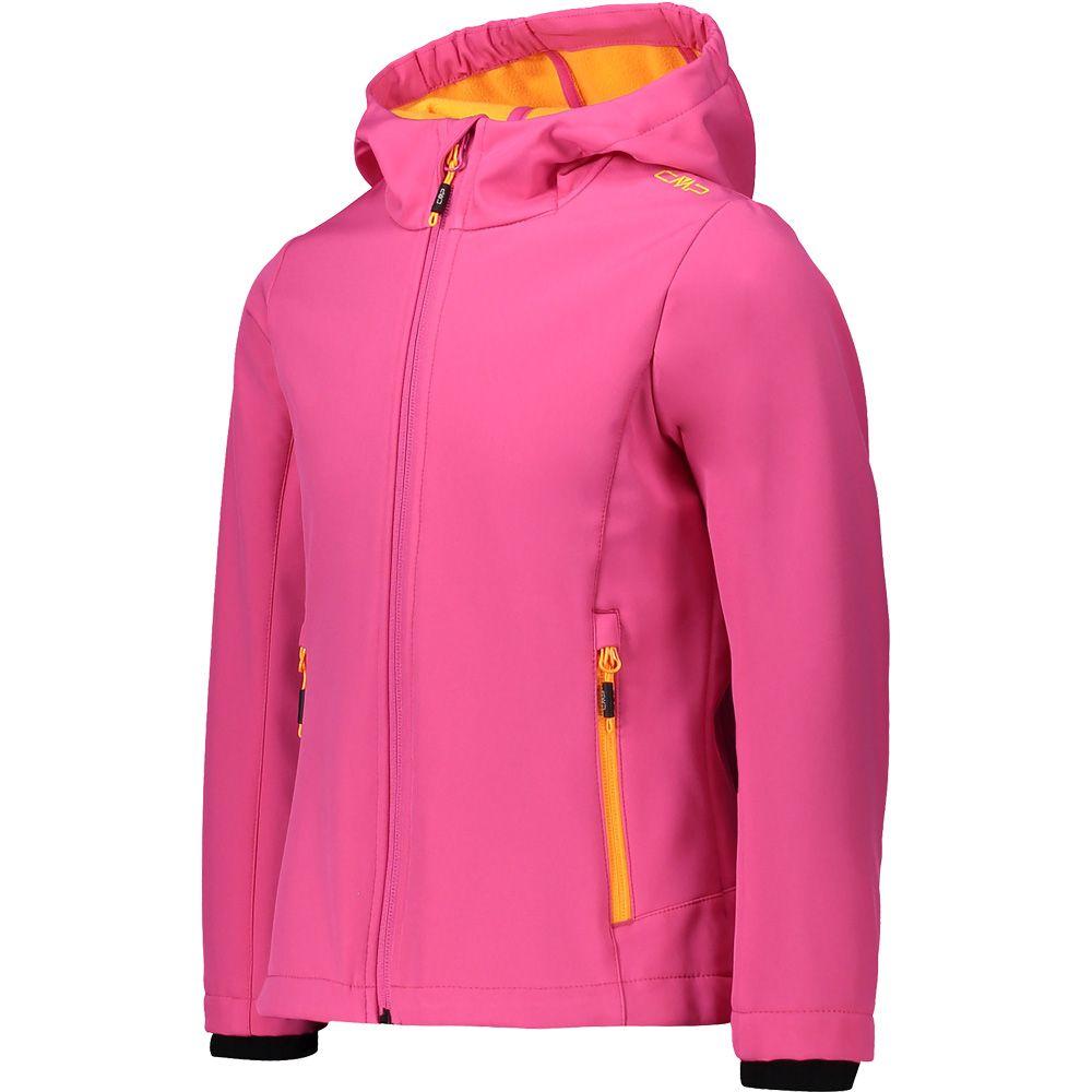 Softshelljacket Girls pink melange