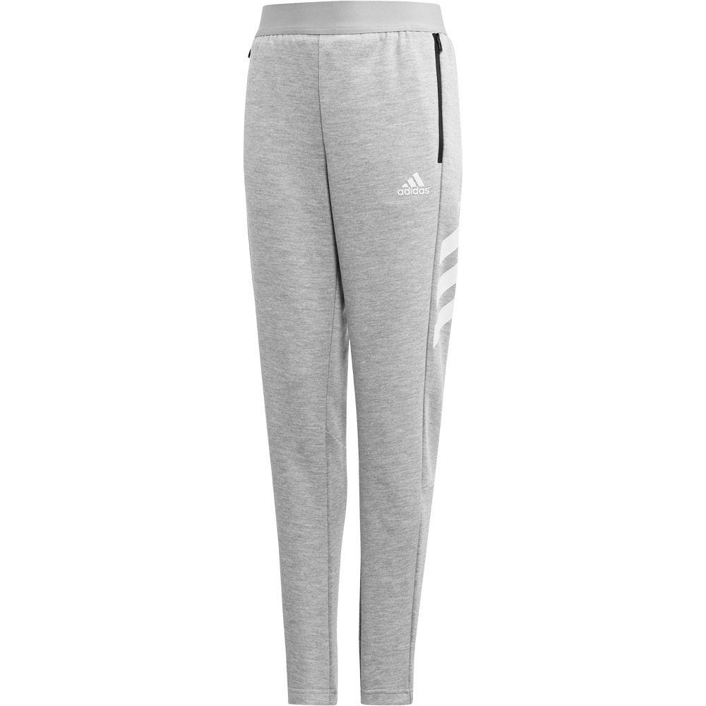 adidas XFG Track Suit Boys medium grey heather white
