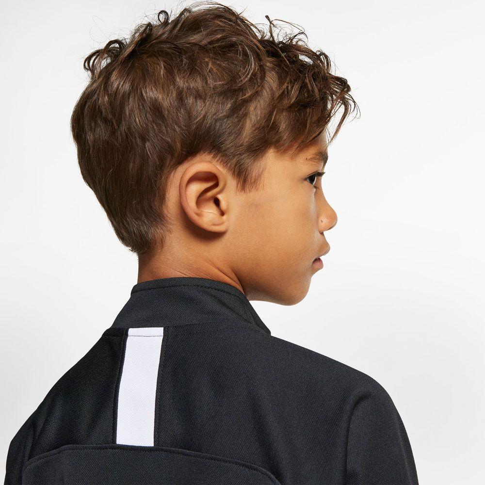Nike Dri FIT Academy Fußball Trainingsanzug Kinder schwarz weiß weiß