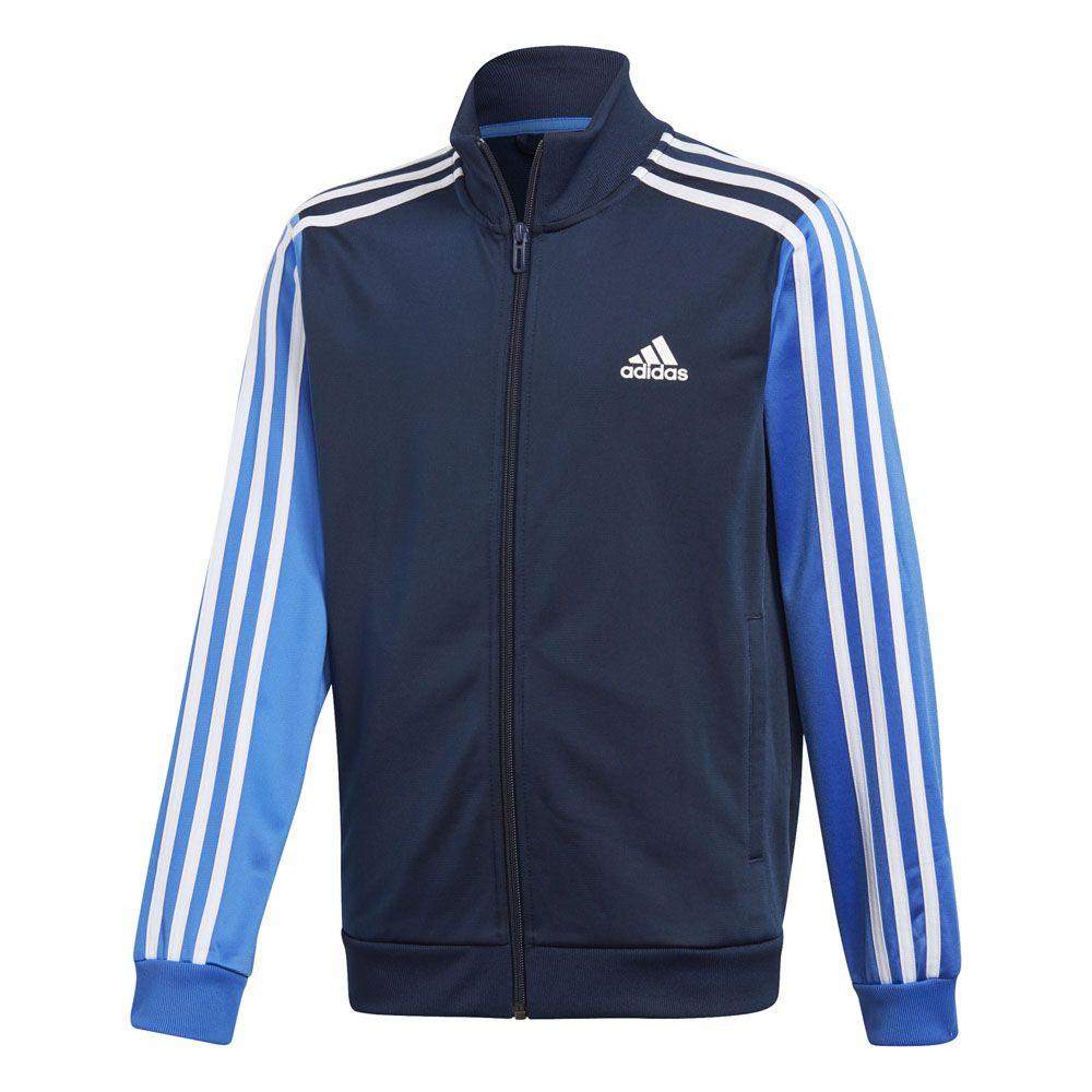 adidas 3 Stripe Collegiate Navy Track Jacket