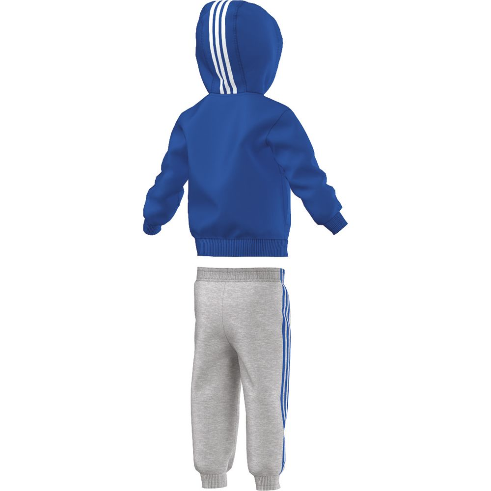 new concept latest high fashion adidas - Full Zip Hoodie Jogger Set Kinder blue white at ...