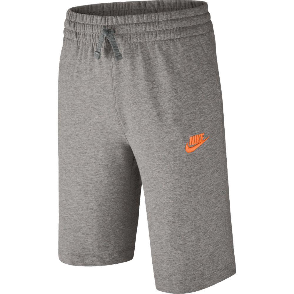 Sportswear Shorts Jungen dunkelgrau meliert