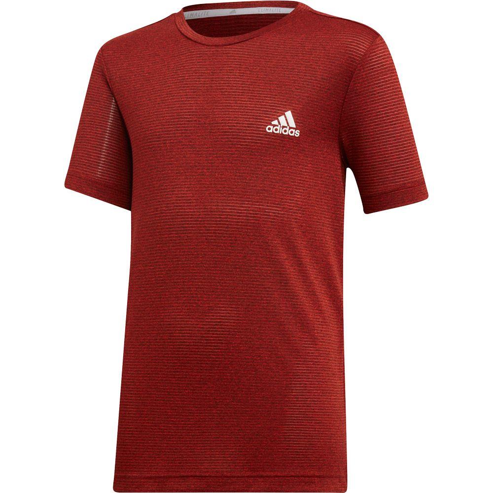 descuento especial de última tecnología amplia selección de diseños adidas - Textured T-shirt Boys active orange active red black at ...