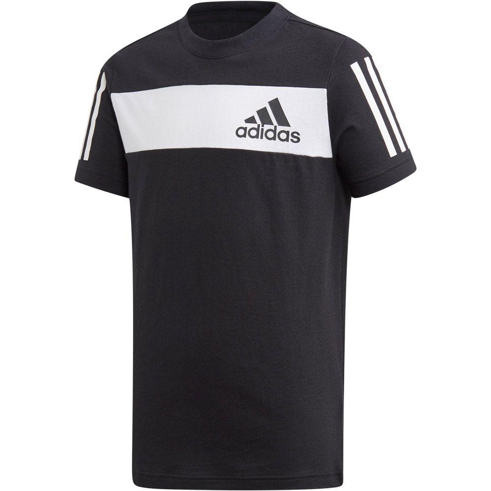 adidas Performance Damen Sport T-Shirt Badge of Sport Cotton Tee schwarz