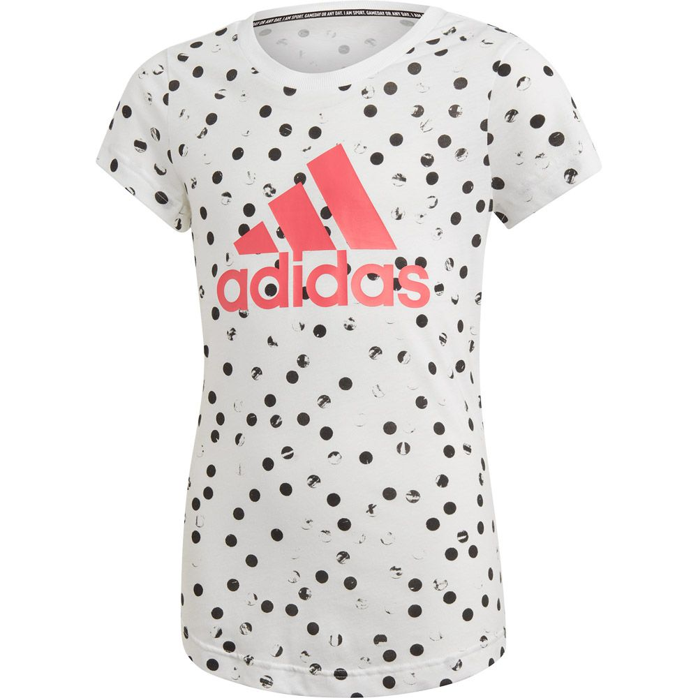 Must Haves Graphic T-shirt Girls white black real pink