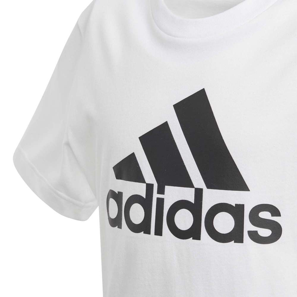 adidas Must Haves Badge of Sport T shirt Boys white black