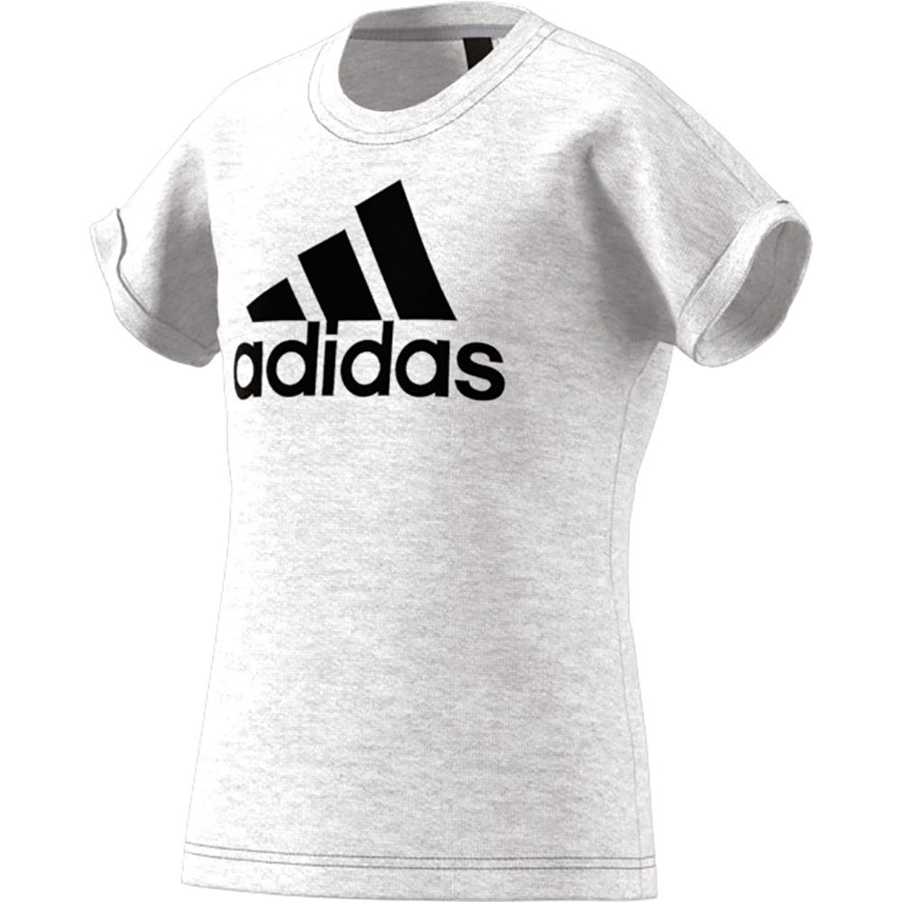 adidas Performance Logo T Shirt Kinder light grey heather