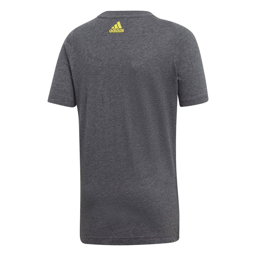 adidas Essentials Linear T shirt Boys dark grey heather