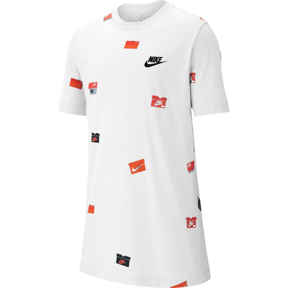 oxígeno inteligente Barriga  Nike - Sportswear T-shirt Kids white at Sport Bittl Shop