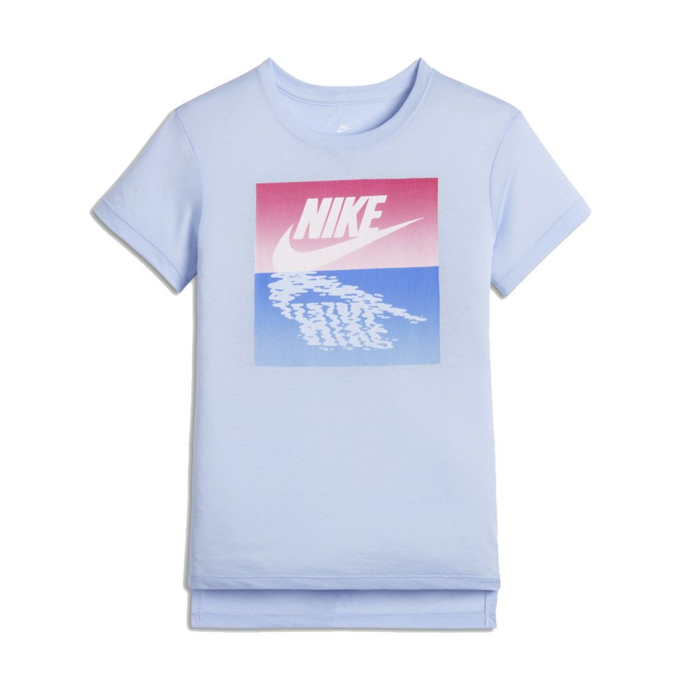 af8220459 Nike - Sunset Futura T-Shirt Girls blue at Sport Bittl Shop