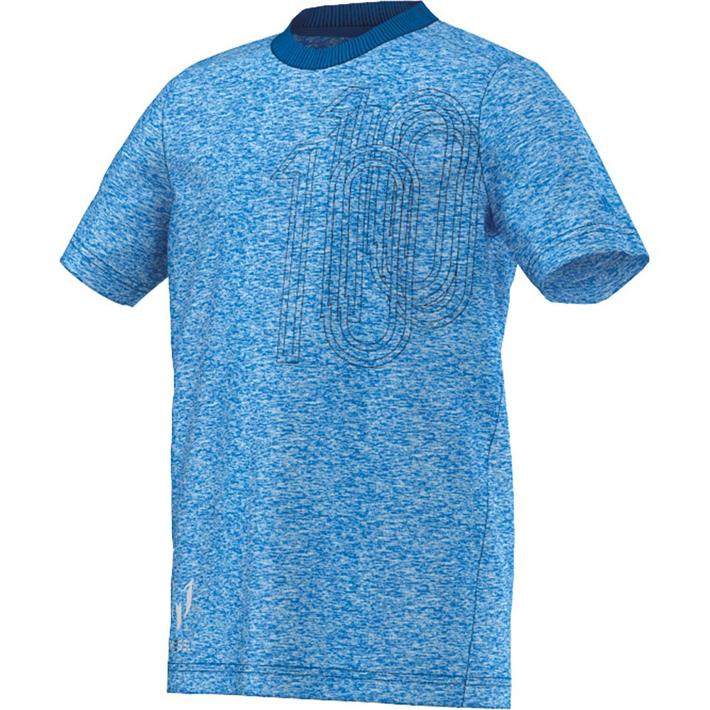 dfa6b3656e1 adidas - Messi Icon Tee Kids shock blue at Sport Bittl Shop