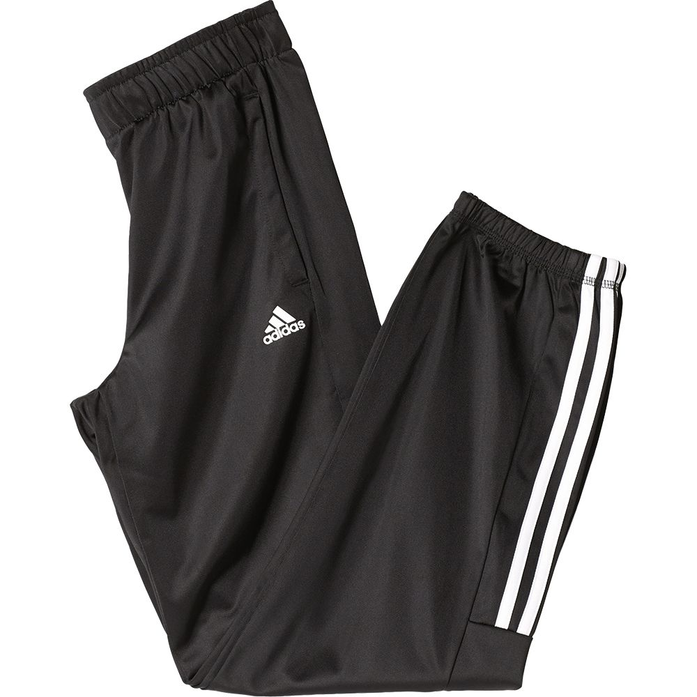 adidas Essentials Mid 3 Stripes Pants Kinder black kaufen