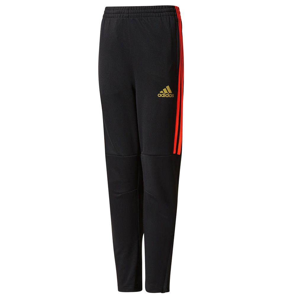 f676e77d0c46 adidas - 3-Stripes Football Tiro Pant black red at Sport Bittl Shop
