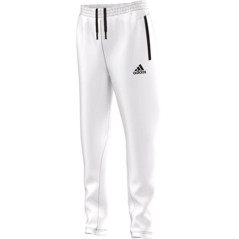 adidas Athletics Z.N.E. Knitted Pant Kids white black at