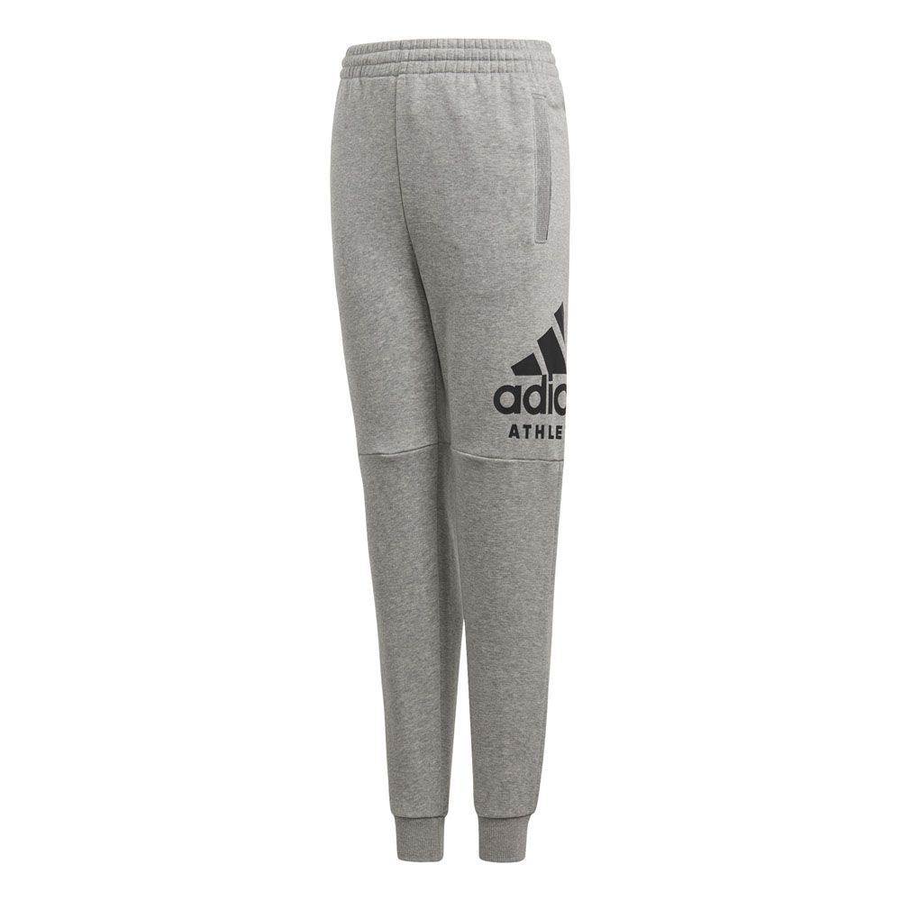 adidas sport id jogginghose jungen medium grey heather black kaufen im sport bittl shop. Black Bedroom Furniture Sets. Home Design Ideas