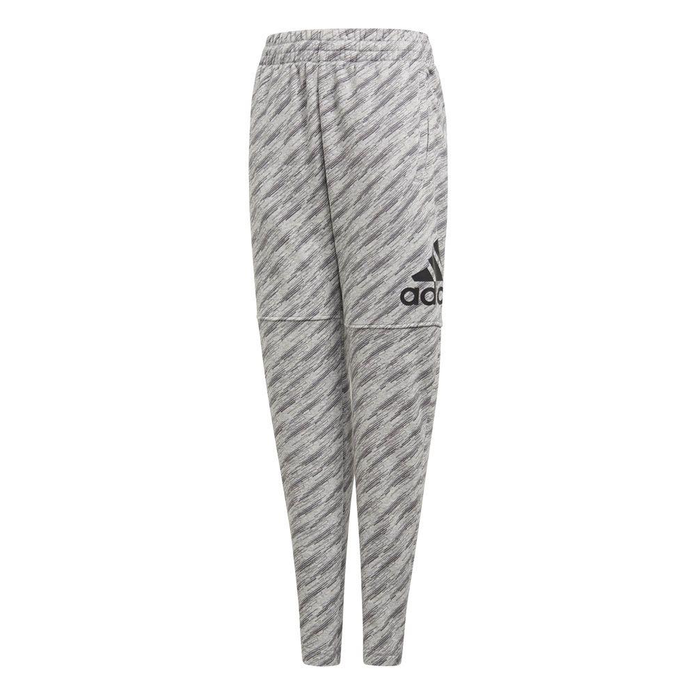 2b2d31f05abe47 adidas Essentials Logo Training Pants Boys medium grey heather grey four  black