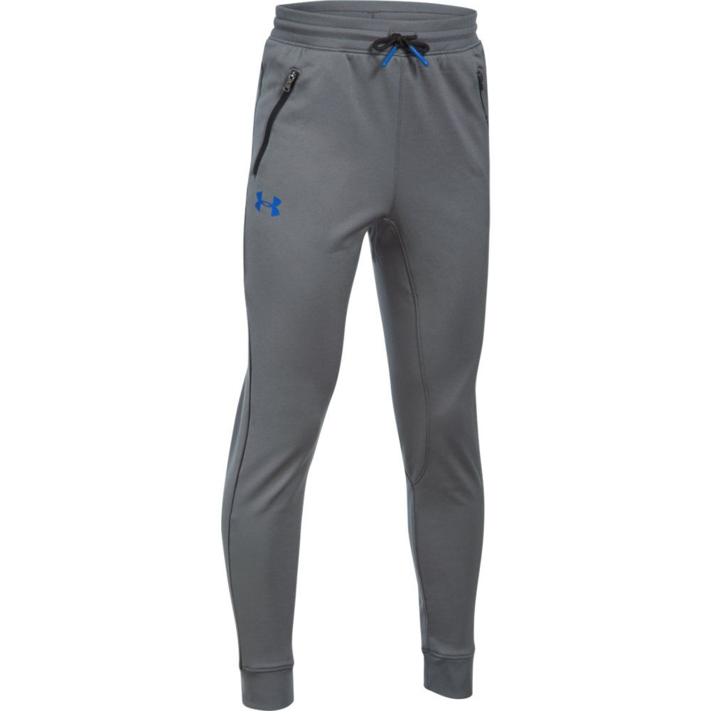 under armour pennant tapered jogginghose jungen grau. Black Bedroom Furniture Sets. Home Design Ideas