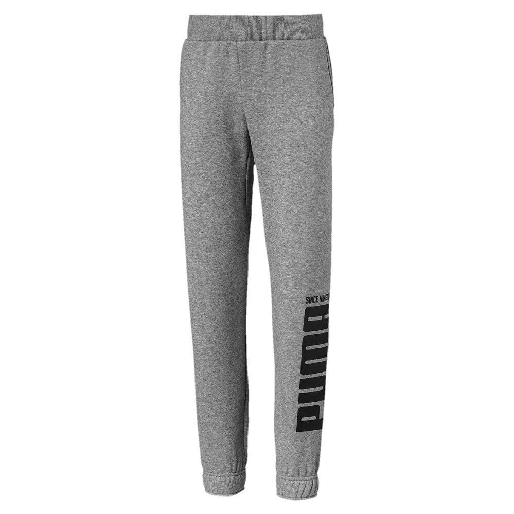 72409a33f0 Puma - Rebel Bold Training Pants FL Kids grey