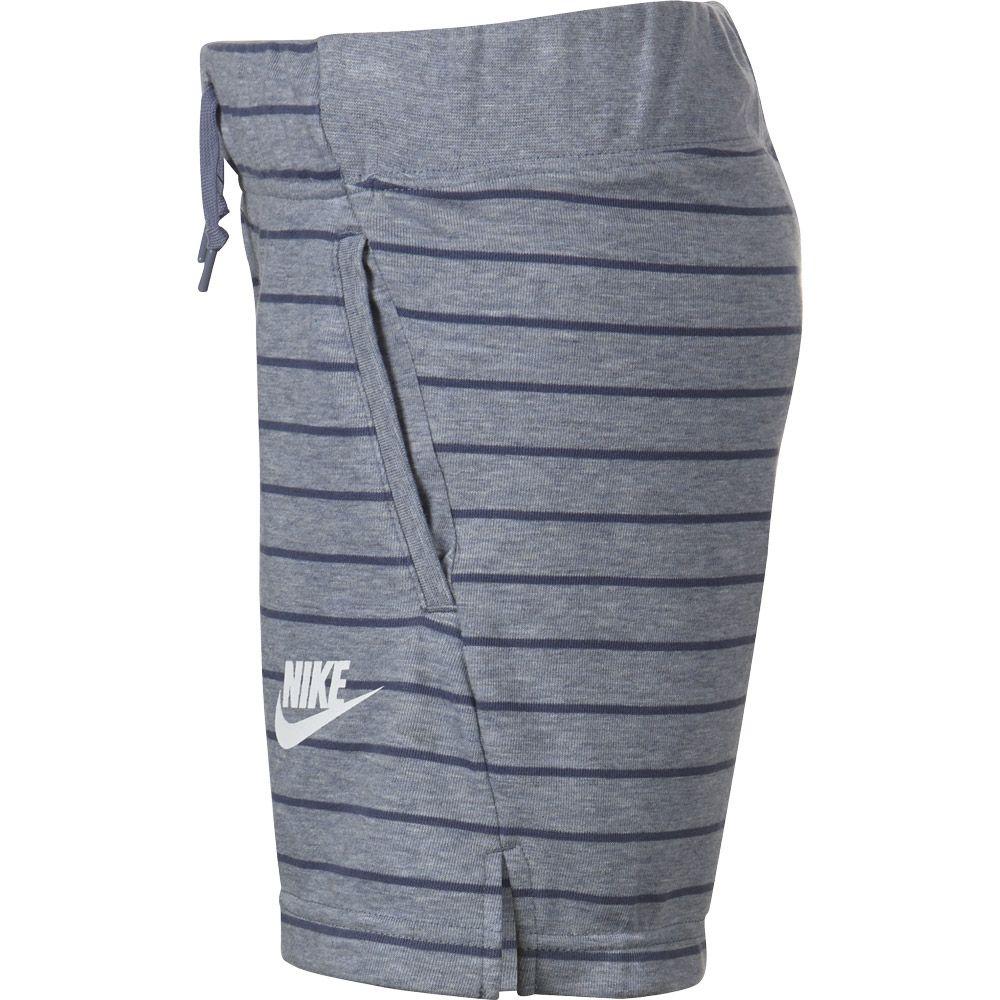 Nike Sportswear Shorts Mädchen ashen slate diffused blue white