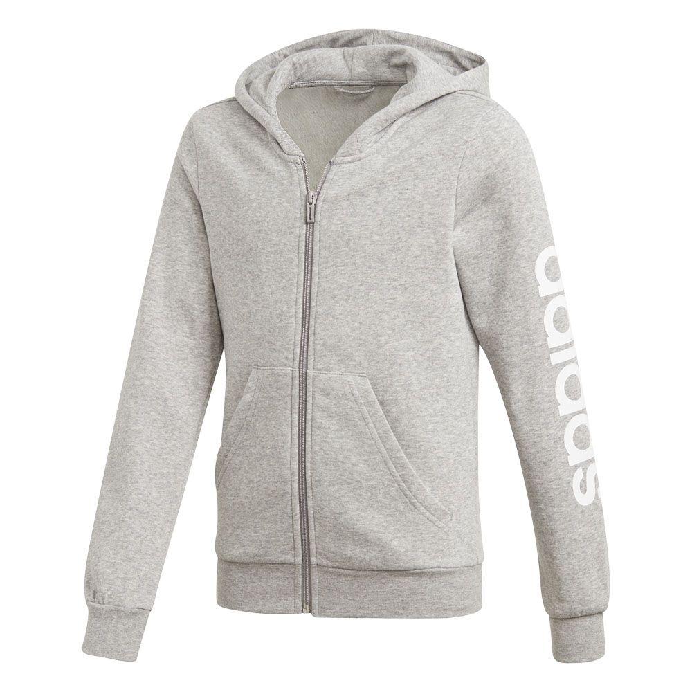 adidas Essentials Linear Kapuzenjacke Damen (XL)