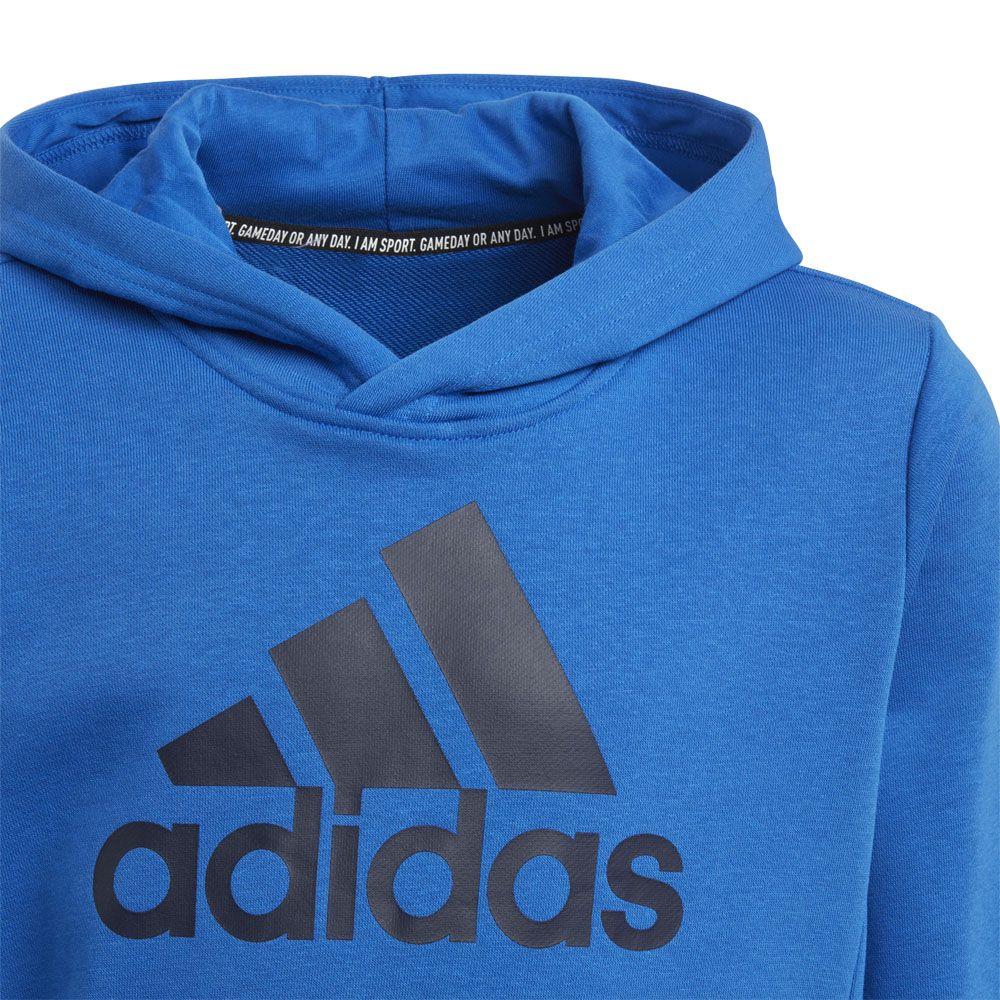 adidas hoodie blau