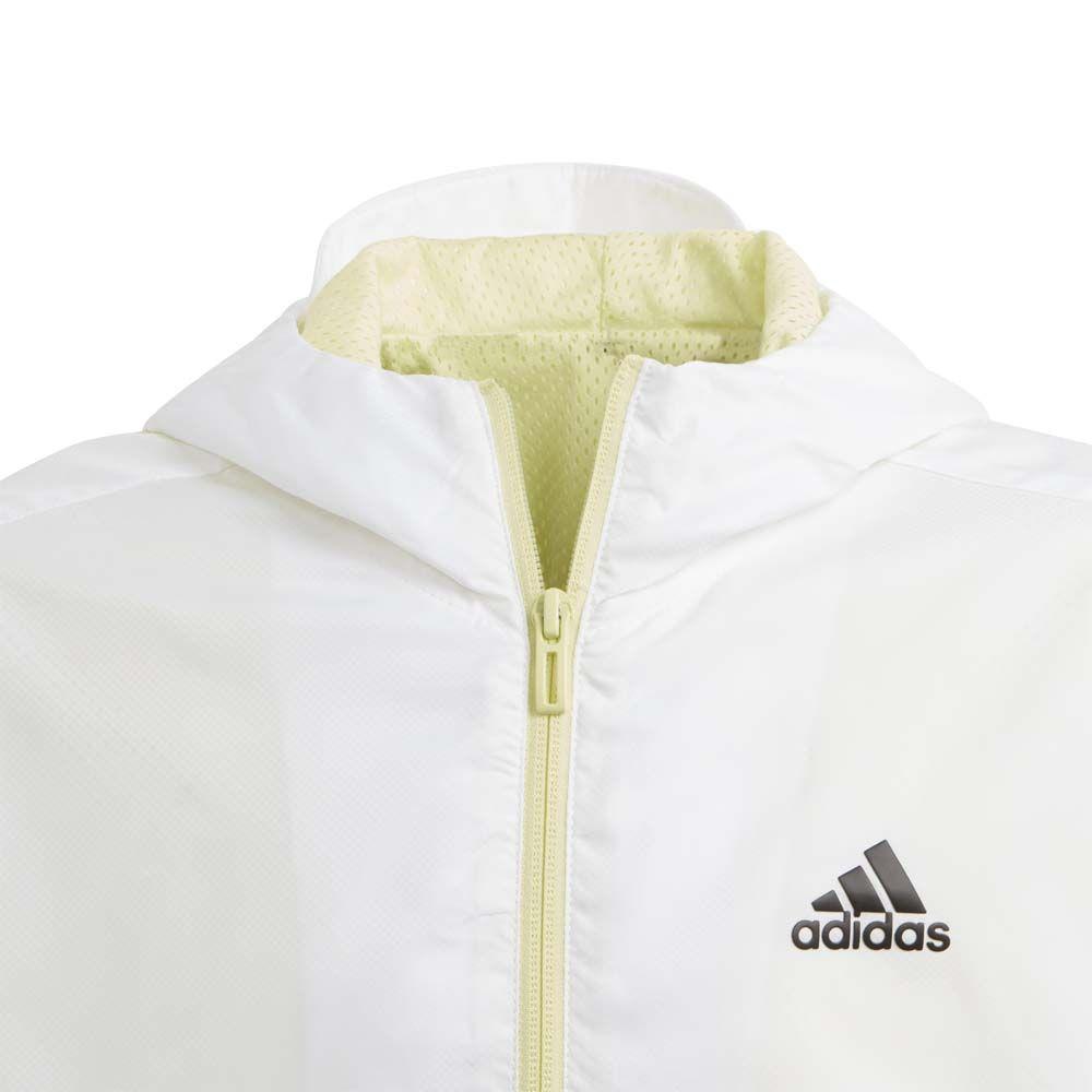 adidas XFG Must Haves Windbreaker Mädchen white yellow tint black