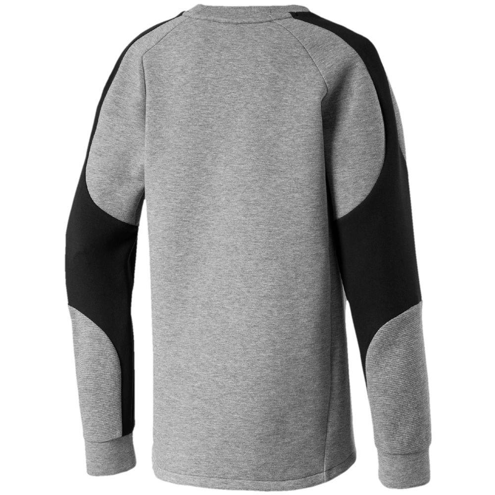 professioneller Verkauf elegante Schuhe verschiedenes Design Puma - Evostripe Crew Sweatshirt Jungen medium gray heather