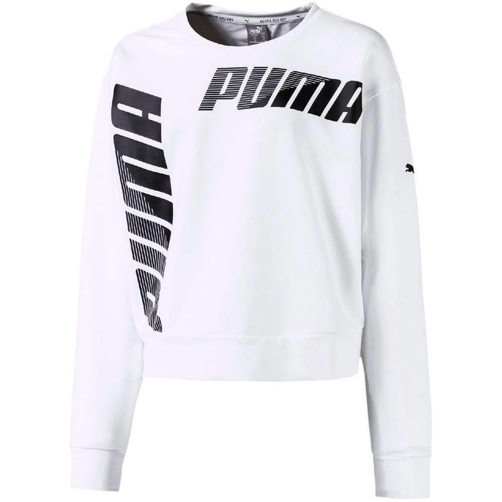 shoes for cheap good selling factory outlets Puma - Modern Sports Crew Sweatshirt Mädchen puma white